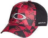 (オークリー)OAKLEY メンズ スポーツウェア 小物 ELLIPSE GRAPHIC TRUCKER 911730JP 009 ブラック / レッド S/M