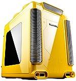 Deepcool ディープクール ゲーミングPCケース Micro-ATXケース STEAM CASTLE Yellow