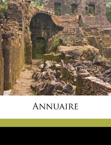 Annuair, Volume 29-31