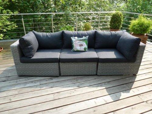 Schutzhülle für großes Gartensofa / Rattan Lounge Sofa 225x95x65cm.