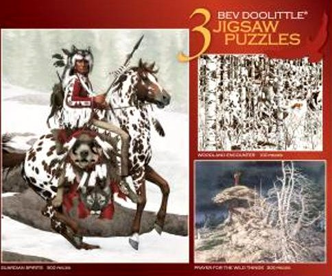 Ceaco Bev Doolittle 3-in-1Deluxe Jigsaw Puzzle Assortment - 1