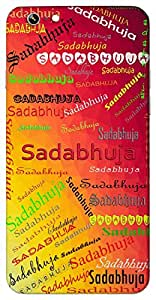 Sadabhuja (Goddess Durga) Name & Sign Printed All over customize & Personalized!! Protective back cover for your Smart Phone : Samsung Galaxy S5mini / G800