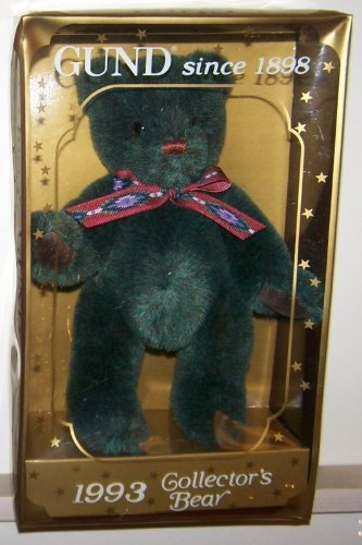 "1 X 10"" 1993 Collector's Bear Plush"