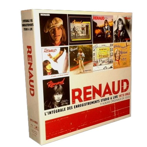 Renaud integrale des enregistrements coffret 10 cd - Renaud le blues de la porte d orleans ...