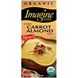 Imagine Natural Creations Organic Creamy Carrot Almond Soup, 32-Ounce Boxes (Pack of 12)
