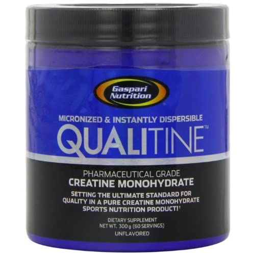 Gaspari-Nutrition-Qualitine-300-g-Creatine-Monohydrate-Muscle-Size-and-Strength