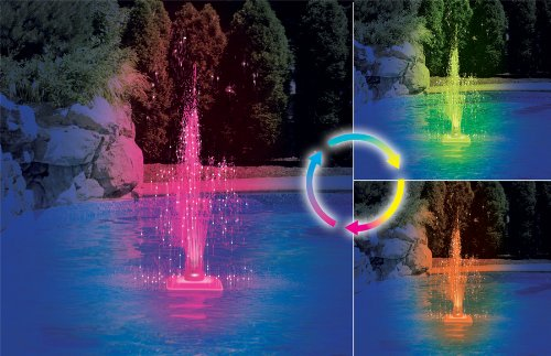 Blue Wave Color Changing Led Fountain