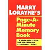 Page a Minute Memory Bookby Harry Lorayne