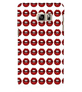 PRINTSWAG LIPS PATTERN Designer Back Cover Case for SAMSUNG GALAXY NOTE 5 DUAL