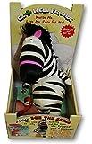 Plush Get Well Friends and Book Set (Zoe the Zebra)