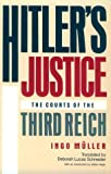 img - for Hitler's Justice: The Courts of the Third Reich by Ingo M??ller (1992-02-01) book / textbook / text book