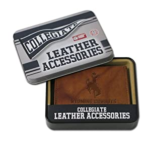 Buy NCAA Wyoming Cowboys Embossed Trifold Wallet by Rico