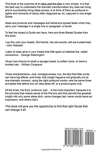 Breast Greatest Quotes - Quick, Short, Medium Or Long Quotes. Find The Perfect Breast Quotations For All Occasions - Spicing Up Letters, Speeches, And Everyday Conversations.