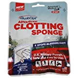 QuikClot Advanced Clotting Sponge, 50g, 0.15 Pound