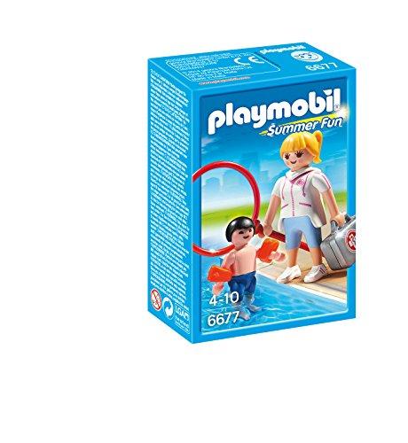 PLAYMOBIL Pool Supervisor Playset