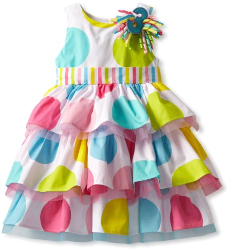 Mud Pie Baby Girl's Birthday Dress,  Multi,  3T (Mud Pie Easter Size 3t compare prices)