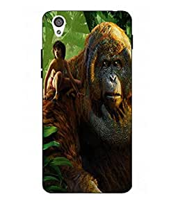 Case Cover Jungle Book Printed Green Hard Back Cover For One Plus X