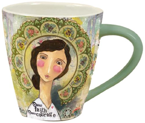 Artisan Lang  Hello Faith Cafe Mug
