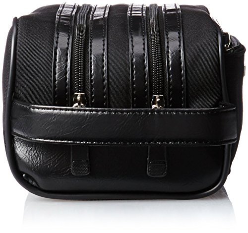 где купить Kenneth Cole Reaction Men's Polyester Double Compartment Travel Kit по лучшей цене