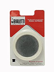 Bialetti Replacement Gasket & Filter for 6 Cup Espresso Maker by Bialetti