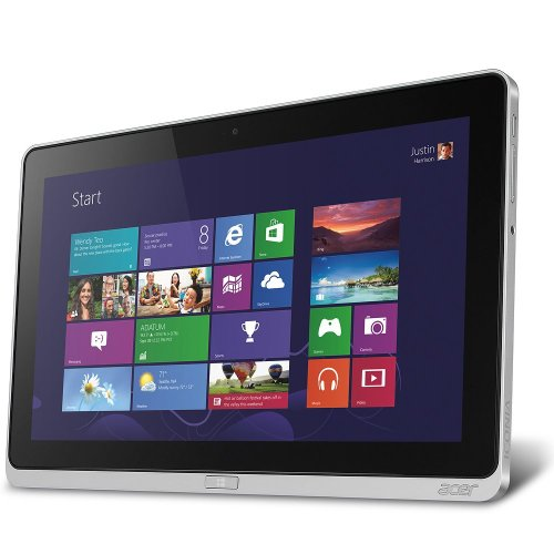 """Acer Iconia W700 Detachable 2 In 1 Touchscreen Computer 3Rd Generation Intel Core I5 2.6 Ghz W/ Turbo Boost 4Gb Ddr3 64Gb Ssd 11.6"""" Full Hd Cinecrystal Led Multi-Touch Display (1920 X 1080) Dual Hd Cameras Wifi Bluetooth 4.0 + Hs Micro Hdmi Usb 3.0 Window"""
