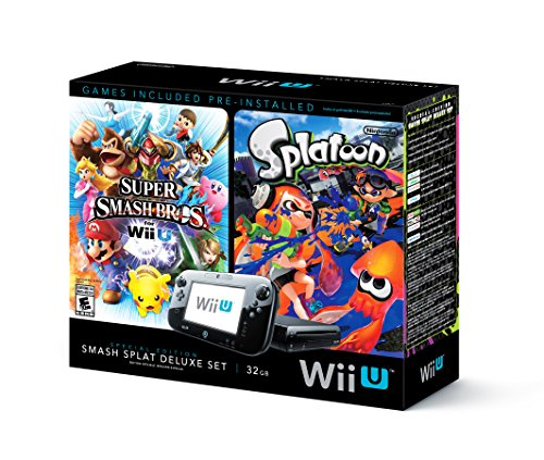 Wii U Super Smash Bros and Splatoon Bundle - Special Edition Deluxe Set Review