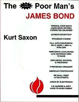New improved poor man s james bond 9781881801016 kurt saxon books
