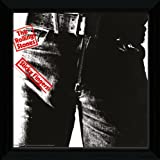 The Rolling Stones Sticky Fingers Framed Album Cover