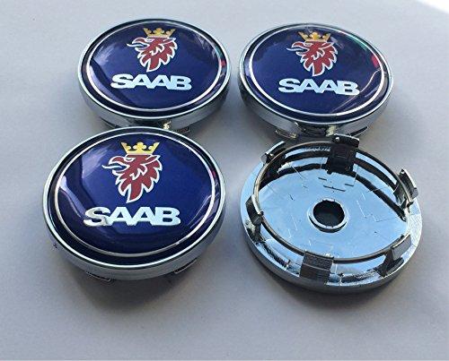 Set-mit-4-Leichtmetall-Radkappen-60-mm-fr-Saab-9-3-9-5-900-93-95