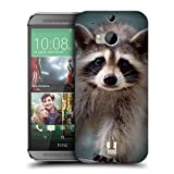 Head Case Designs Baby Raccoon Famous Animals Protective Snap-on Hard Back Case Cover for HTC One M8