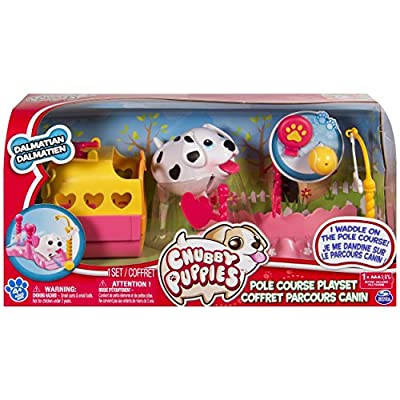 Chubby Puppies Polecourse Playset from Spin Master
