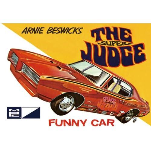 1969 Pontiac GTO Funny Car Super Judge MPC Model Car MPC FreeShipping