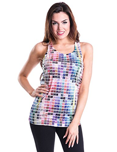 Innocent Pantone Top donna multicolore XL