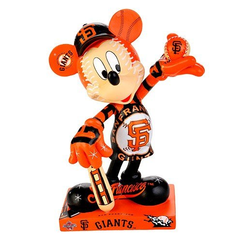 "Francisco Giants 2010 All Star Game Mickey Mouse 7.5"" Resin Figurine"