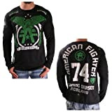 American Fighter Affliction Take Flight Mens Long Sleeve Fight T-Shirt Tee