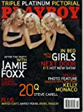 Playboy November 2005 The Girls Next Door on Cover (nude inside), Jamie Foxx Interview, Steve Carell 20 Questions, Kelly Monaco/Dancing With the Stars, Glen David Gold Fiction