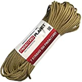 Paracord Planet 50 550lb Type III Gold Paracord