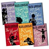 Maya Angelou 6 Books Collection Pack Set RRP: �47.94 (I Know Why the Caged Bird Sings, Gather Together in My Name, Singin'' and Swingin'' and Getting'' Merry: Like Christmas, The Heart of a Woman, All God's Children Need Travelling Shoes, A Song Flung Up to Heaven)by Maya Angelou