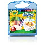 Crayola Washable Super Tips Markers Kit 65pc Set