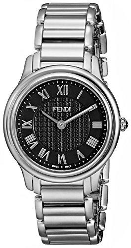 Fendi Classico Women's 32mm Silver Steel Bracelet & Case Quartz Watch F251031000