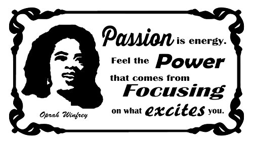 Oprah Winfrey Quotes | Inspirational Wall Decals | Quotes To Live By | Quotes | Motivational Quotes Wall Art | Daily Quotes | Famous People Quotes | Inspiring Quotes | Quote to Inspire | USA Made