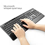 Anker CB310 Full-Size Ergonomic Wireless Keyboard and Mouse Combo for Desktop with Water-Resistant and whisper-quiet Keyboard Design