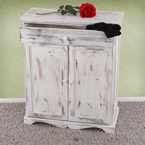 Arredo bagno cassettiera vintage t38 legno di paulonia 25x30x91cm ...