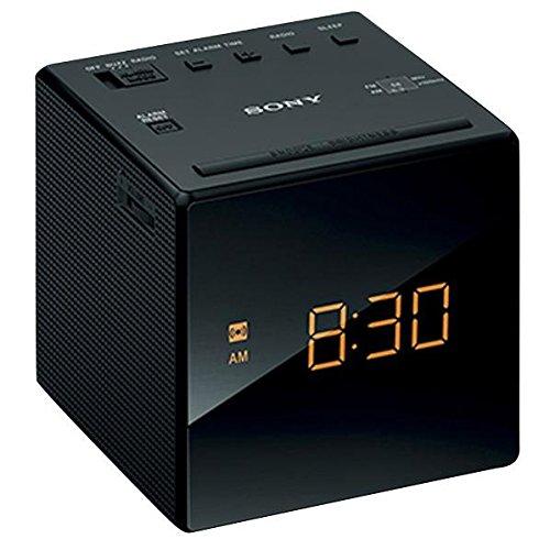 SONY FM/AMクロックラジオ ブラック ICF-C1 B
