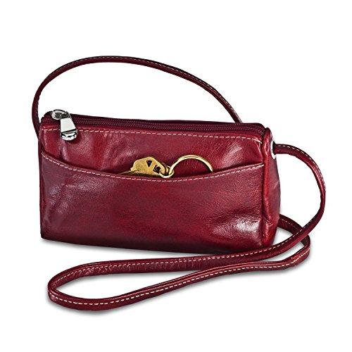 david-king-co-florentine-top-zip-mini-bag-3501-cherry-one-size