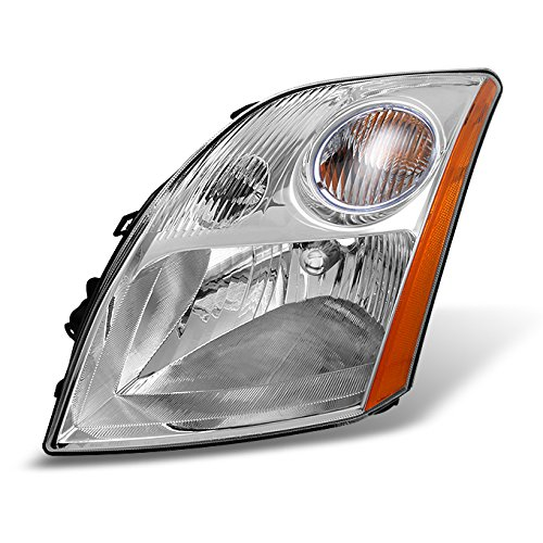 Fits Sentra Base   S   SL   SE-R Clear Driver Left Side Headlight Head Lamp Front Light Replacement (2008 Nissan Sentra Ser compare prices)