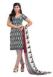 Nilkanth Enterprise MultiColoured Dress Material