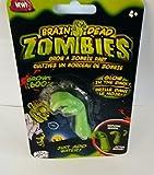 Brain Dead Zombies (Set of 3 Body Parts) Glow In The Dark - GROWS 600% In Water