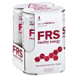 FRS Healthy Energy Drink, Low Cal, Wild Berry, 4 Pack, 4 - 11.5 fl oz (340 ml) cans 46 fl oz (1.36 lt)