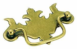 Amerock BP3425BB Allison Value Hardware Pull Furniture Swing Handle, Burnished Brass, 3-Inch Center-to-Center
